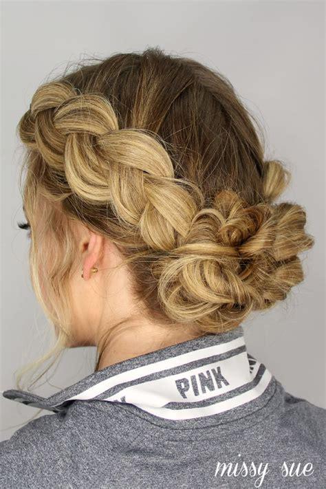 dutch braids  messy buns french braid hairstyles box