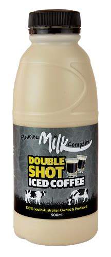 Pulling beautiful shots is science and art. Double Shot Iced Coffee