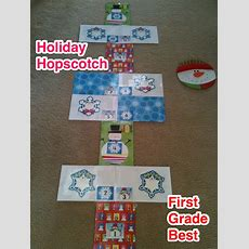 First Grade Best Holiday Hopscotch