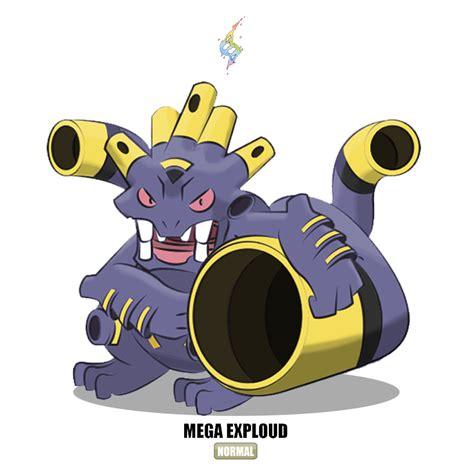 mega exploud  otchono  deviantart