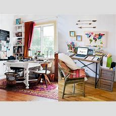 32 Inspiring Boho Chic Home Office Design Ideas  Interior God