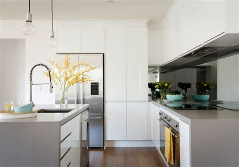 caesarstone sleek concrete benchtop cottage ideas