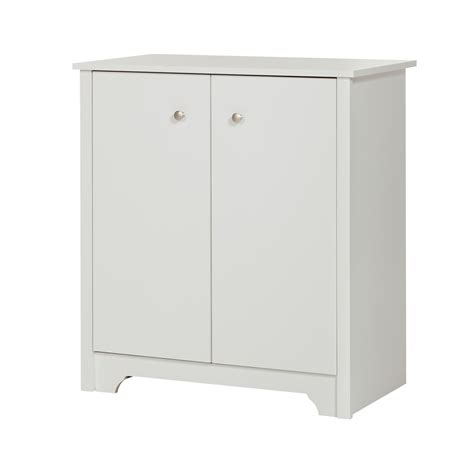 small two door storage cabinet south shore vito small 2 door storage cabinet pure white