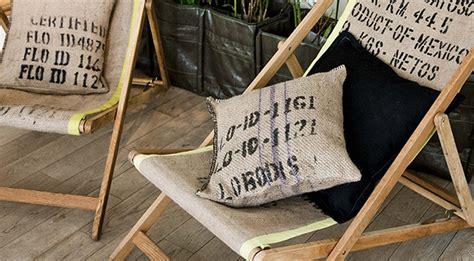 toile de jute sac  cafe recycle
