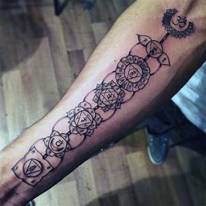 40 Chakras Tattoo Designs For Men - Spiritual Ink Ideas