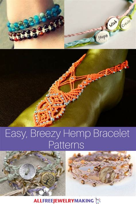 easy breezy hemp bracelet patterns