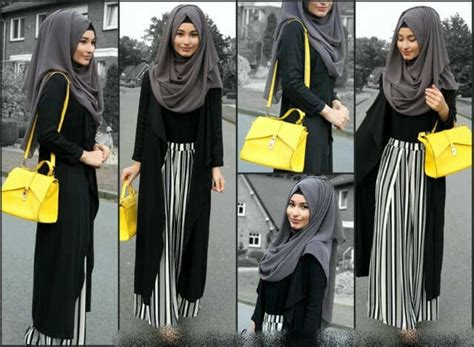 Abaya Gangga Set Celana jual set kulot us pakaian muslim hitam kaos