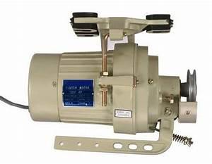 Sewing Machine Clutch Motor 1  2hp 3450rpm 110v