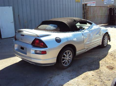 2002 Mitsubishi Eclipse Parts by 2002 Mitsubishi Eclipse Convertible 2 4l Mt Color Silver