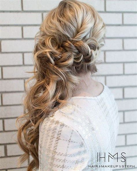 Formal Hairstyles On The Side by 25 Best Ideas About Side Ponytail Hairstyles On