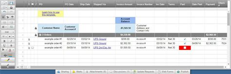 excel invoice templates smartsheet