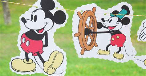 Steamboat Mickey by Diy Birthday Steamboat Willie Mickey Mouse Classic