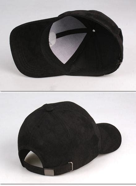 embroidered faux suede cap classic suede strapback cap longline clothing