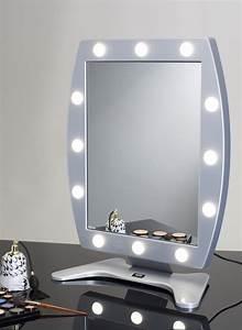 Miroir Avec Lumière Pour Maquillage : miroir lumineux maquillage avec 12 points lumi re cantoni ~ Zukunftsfamilie.com Idées de Décoration