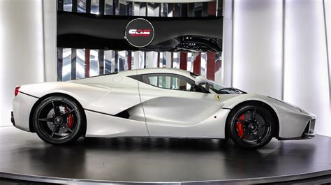 For Sale New by Stunning White Laferrari For Sale Gtspirit