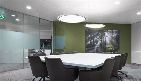 Led Lighting For Meeting Room green offices connected light