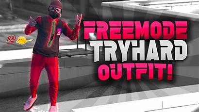 Gta Try Hard Outfit Modded