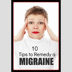 10 Tips To Remedy Migraines  The Shorts, Peanut Butter And Butter