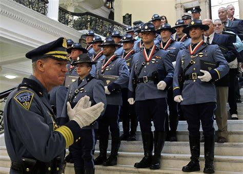 mass trooper sues police leaders    told