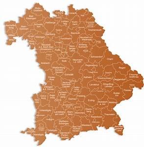 Flurkarte Bayern Kostenlos : landkreiskarten bayern prospekt express ~ Lizthompson.info Haus und Dekorationen