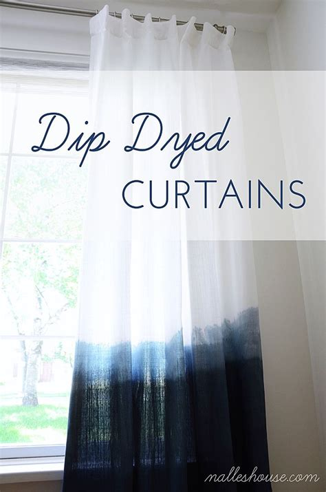 Dying Drapes - 17 ideas about dip dye curtains on tie dye