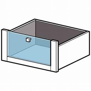 Tiroir Pour Dressing : tiroir fa ade verre cm pour dressing espace rangements ~ Teatrodelosmanantiales.com Idées de Décoration