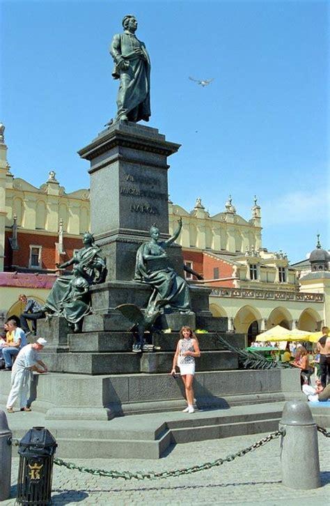 adam mickiewicz monument krakow wikipedia