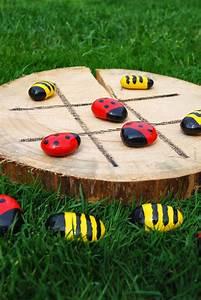 Outdoor Spielzeug Für Kleinkinder : taburettli drei gewinnt f r draussen basteln mit maxi basteln mit kindern basteln und spiele ~ Eleganceandgraceweddings.com Haus und Dekorationen