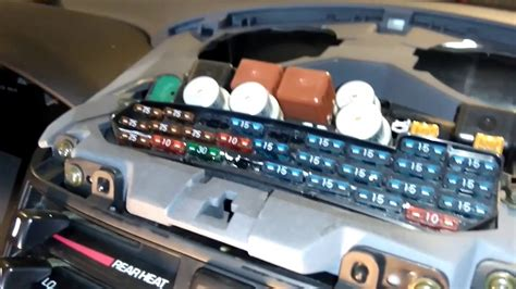 fuse box location   toyota previa youtube
