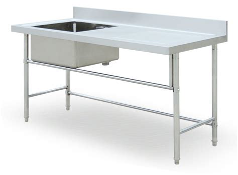 Free Standing Commercial Kitchen Sink/stainless Steel