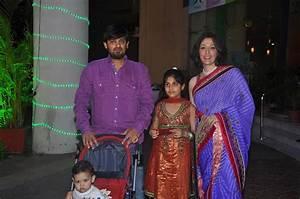 Music Director Wajid Ali with his family at the wedding ...
