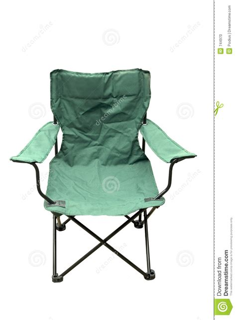 folding cing chair stock photo image 744970