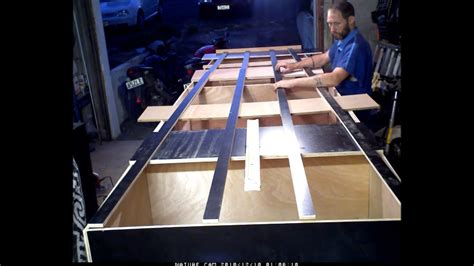 Youtube Flat Bottom Boat by Homemade Boat That Works Plywood Flat Bottom Boat That