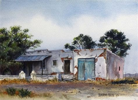 july  trans karoo trip paintings part