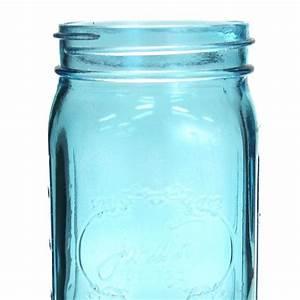 24 oz colored mason jars blue 24 oz blue vintage mason With cheap mason jars bulk