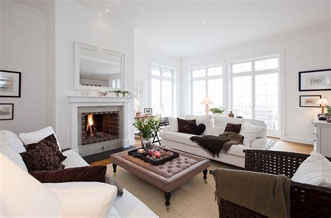 Stockholm Vitt  Interior Design New England Styled Home