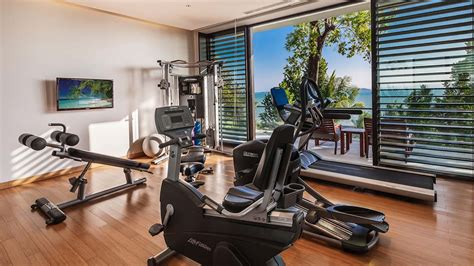 villa sawarin cape yamu phuket fitness room