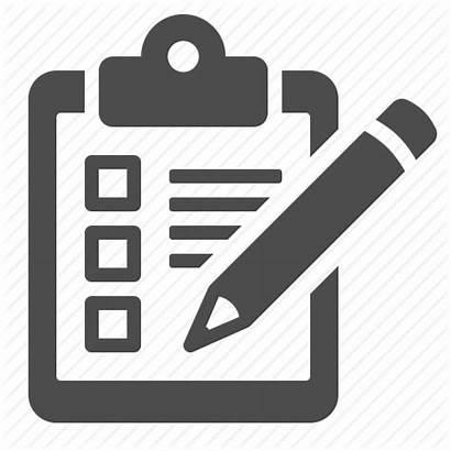 Checklist Icon Icons Clipboard Pencil Plan Delivery