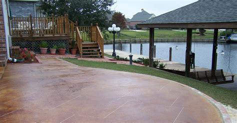 decorative concrete ideas for beautiful concrete
