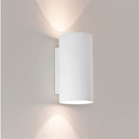 up and down wall lights astro 7002 bologna 240 white plaster up and down wall