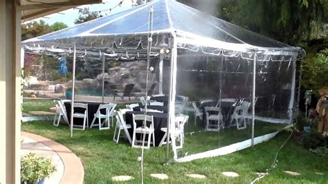 canopy  clear top canopy evening party tent party tent wedding tent youtube
