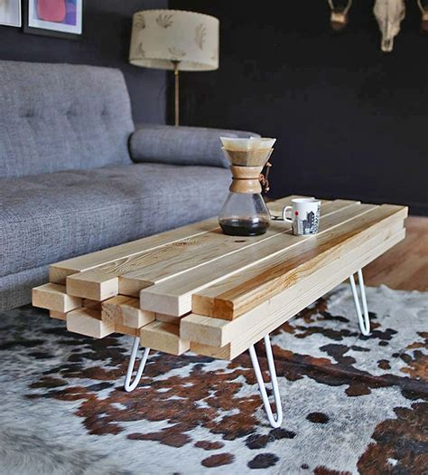 Do It Yourself Cool Coffee Tables • The Budget Decorator