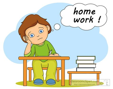 school work clipart homework clipart school work pencil and in color