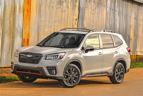 subaru forester  gas mileage car price