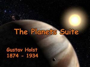 Holst - Planets Mars and Venus PR by - UK Teaching ...