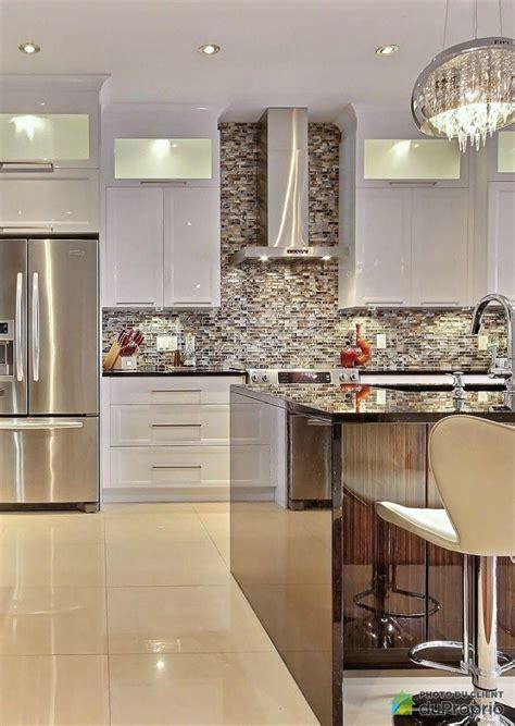 belles cuisines contemporaines cuisine luxueuse cuisine contemporaine avec de