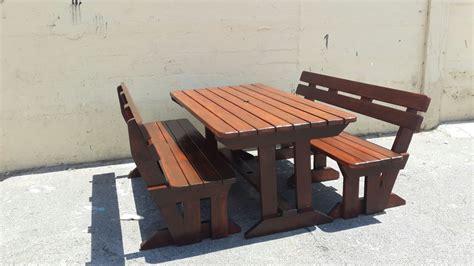 quality outdoor backrest picnic set teak cape town
