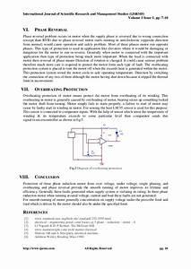 Single Phasing  Phase Reversal  Overvoltage  Under Voltage And Overhe U2026
