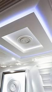 Decoration Faux Plafond : decoration plafond platre design maroc ~ Melissatoandfro.com Idées de Décoration
