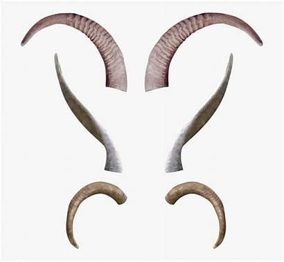 Horns Goat Devil Goats Claw Antelope Clipart